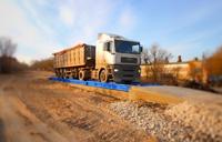 Взвешивание грузового автомобиля MAN на электронных автовесах ВАЛ. фото #31