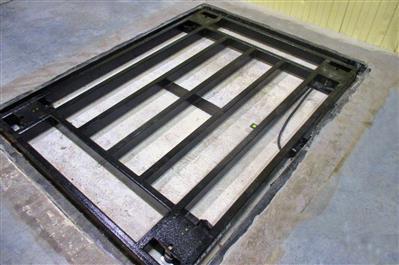 Внутренний вид врезных платформенных весов Эльтон фото #13
